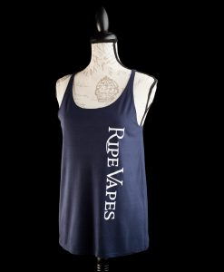 ripe vapes tank top blue