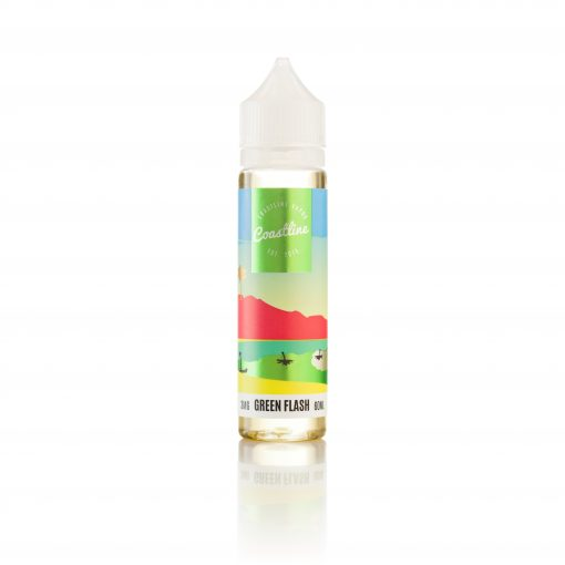 coastline green flash vape juice
