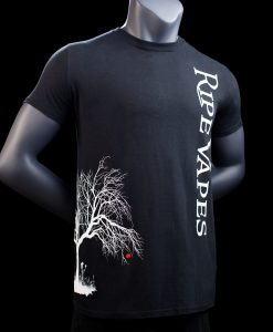 ripe vapes tree t shirt black