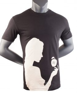 snow white black t shirt